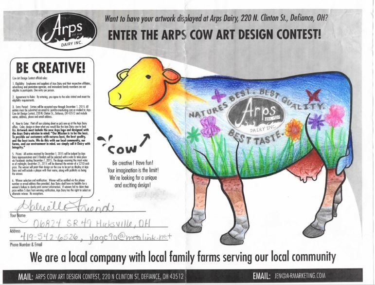 Cow Contest Finalists