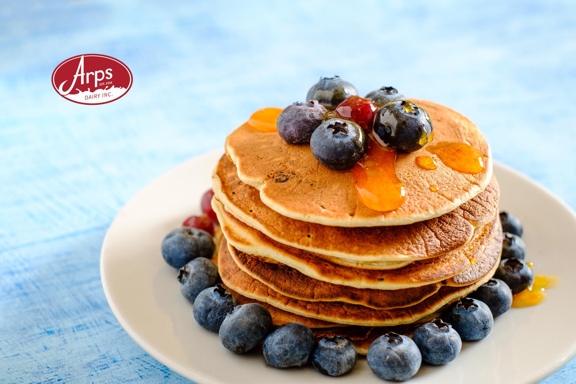 Arps Dairy Sponsors Pancake Breakfast