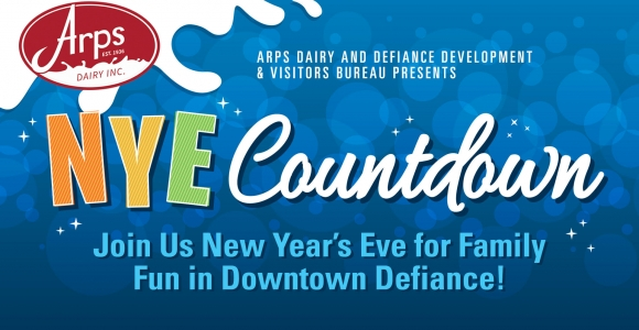 Arps Dairy NYE Countdown Schedule Highlights