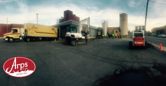 Arps Dairy Breaks Ground on Expansion Project