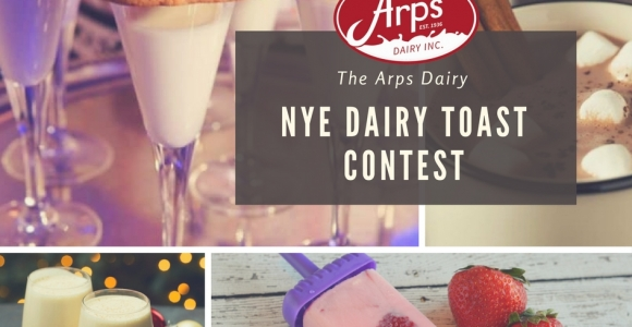 Arps Dairy NYE Dairy Toast Contest