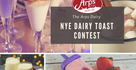 Arps Dairy NYE Dairy Toast Contest