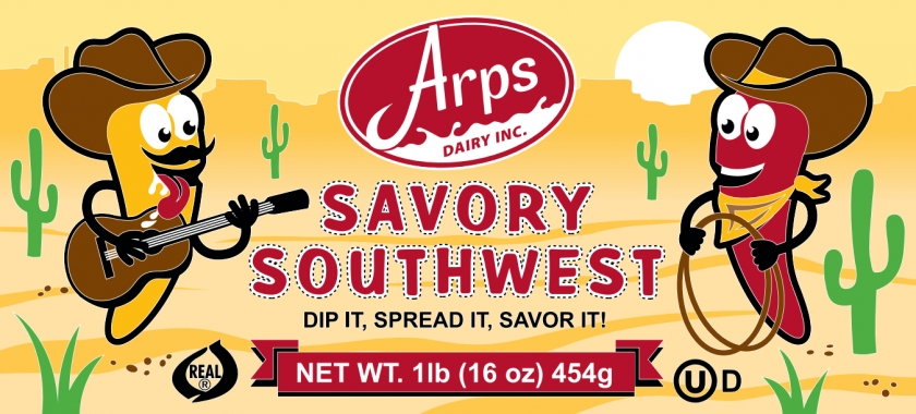 Arps Dairy Announces Savory Southwest Spread
