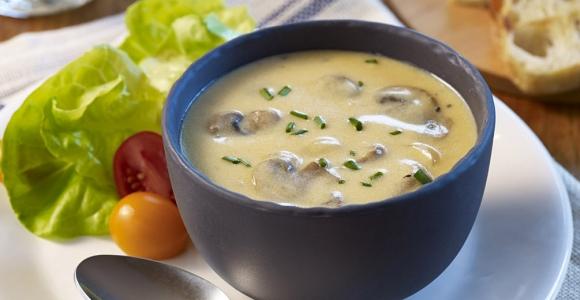 Mushroom Cheddar Soup