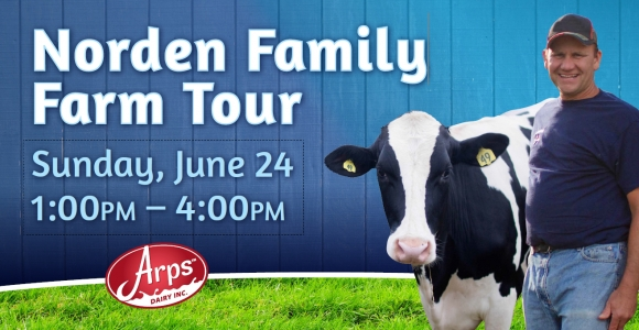 You're Invited to the Norden Family Farm Tour