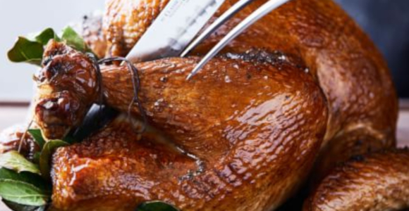 10 Days of Thanksgiving: The Main Dish: Buttermilk-Brined Turkey