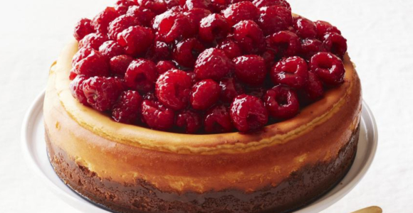 10 Days of Thanksgiving: The Dessert: Raspberry Cheesecake